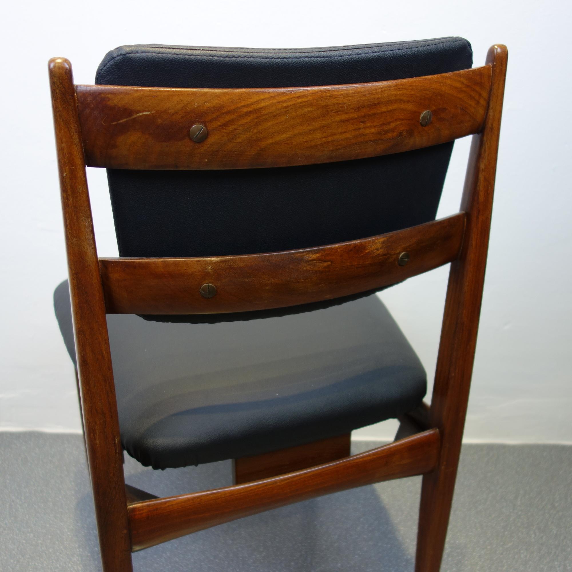 4 Stühle 60er Jahre Italien – Es war einmal…